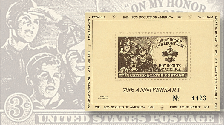 3-cent-stamp-issued-1950-fo-the-40th-anniversary