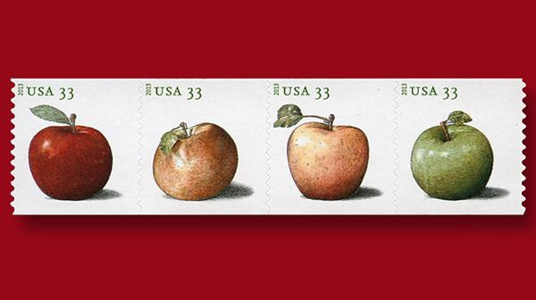 33-cent-apples-stamps