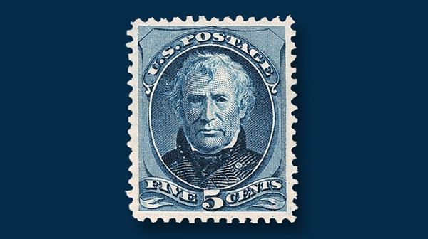 5-cent-deep-blue-zachary-taylor-stamp