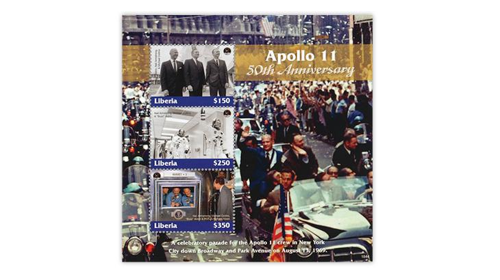 50th-anniversary-manned-moon-landing-liberia-souvenir-sheet