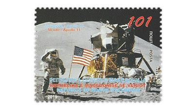 50th-anniversary-manned-moon-landing-macedonia-stamp