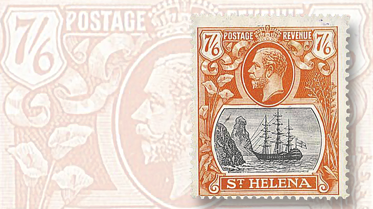 7-shilling-6-penny-saint-helena-stamp