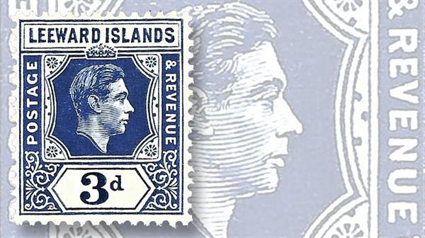 9-1949-leeward-islands-three-penny-keytype-stamp