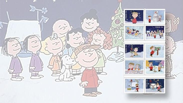a-charlie-brown-christmas-stamp-set