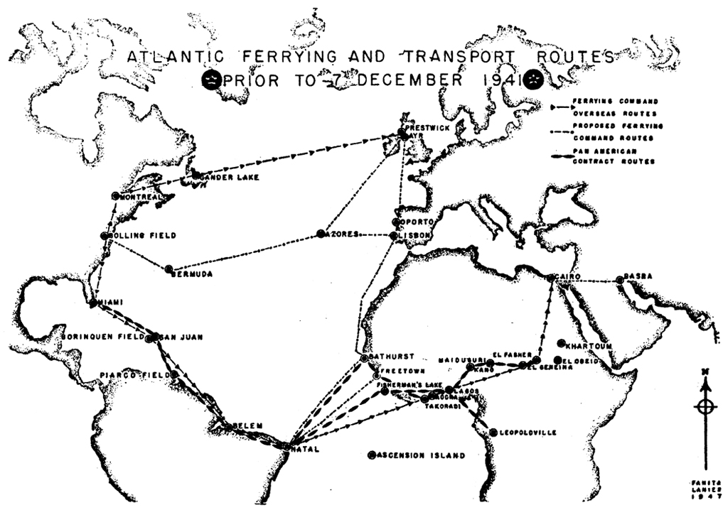 U S Mail Across The Atlantic By Land Based Aircraft Part 1 1941