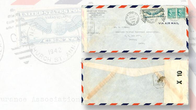 airmail-cover-new-york-bombay-trans-atlantic