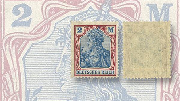 aix-phila-briefmarken-auction-germania-stamp-quatrefoils-watermark