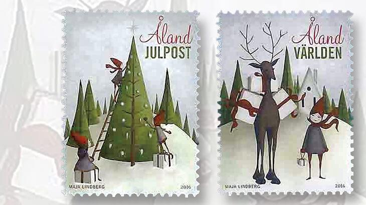 aland-2016-christmas-stamps