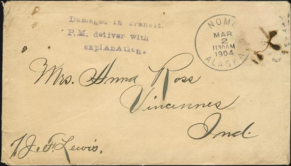 alaska-indiana-1904-cover-damaged-transit