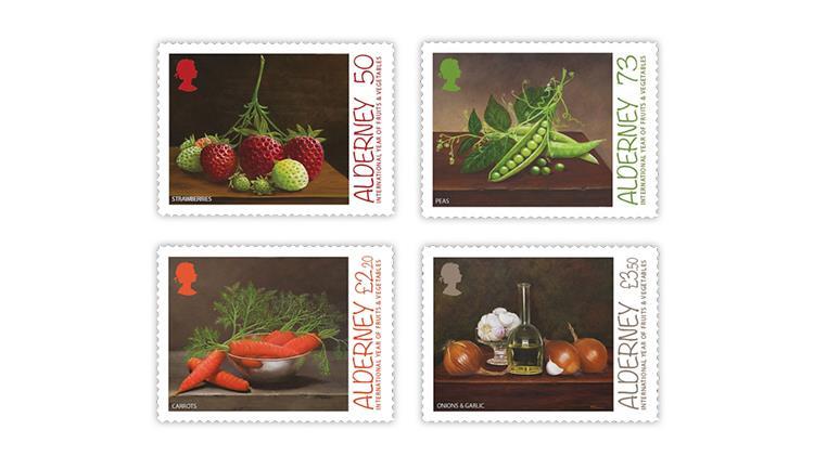 alderney-2021-fruits-vegetables-stamps