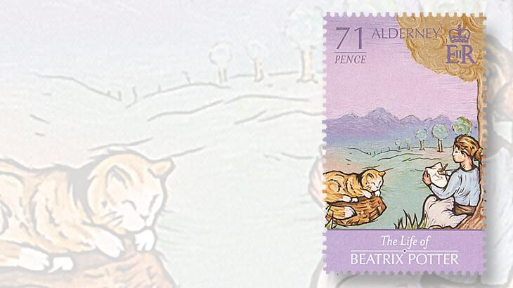 alderney-beatrix-potter-stamps