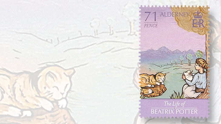 alderney-beatrix-potter-stamps