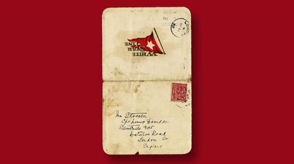 aldridge-auction-titanic-lettercard
