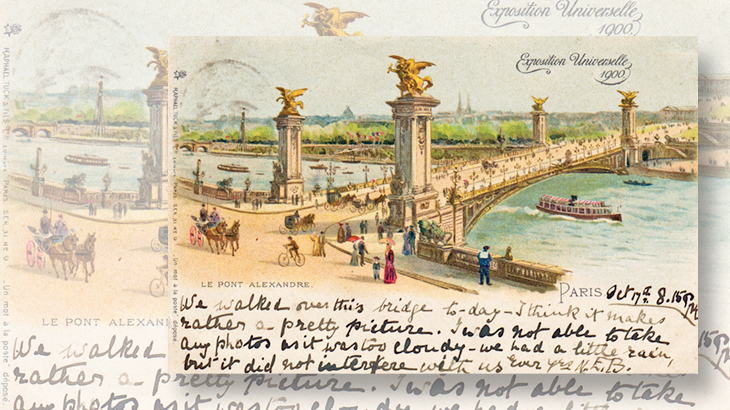 alexander-iii--bridge-crossing-seine-postcard