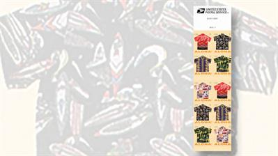 aloha-shirt-stamps-booklet