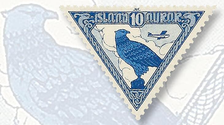 althing-millennium-dornier-airplane-stamp
