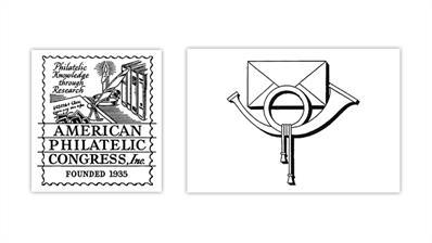 american-philatelic-congress-postal-history-society-logos