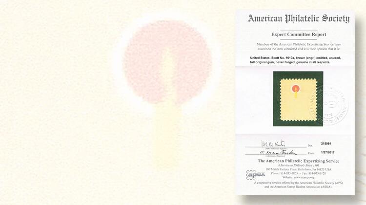 american-philatelic-society-expertizing-service-apex-certificate