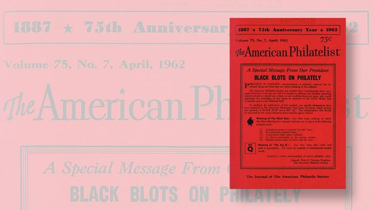 american-philatelist-april-1962-black-blot-program-announcement