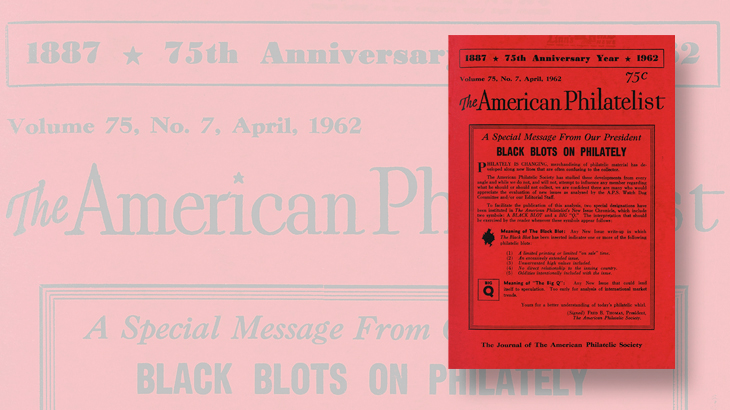 american-philatelist-april-1962-black-blot-program-announcement