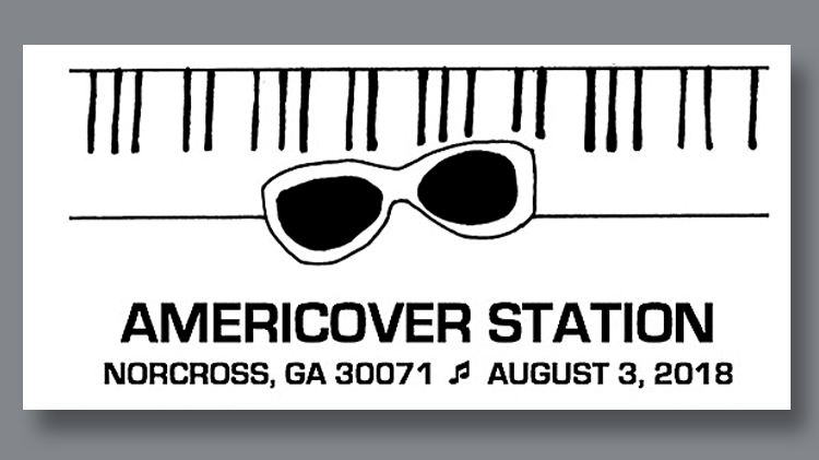 APS youth fellow's Americover postmark designs