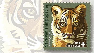 amur-tiger-club-semipostal-stamp