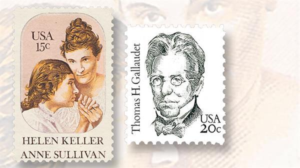 anne-sullivan-helen-keller-thomas-h-gallaudet-stamps