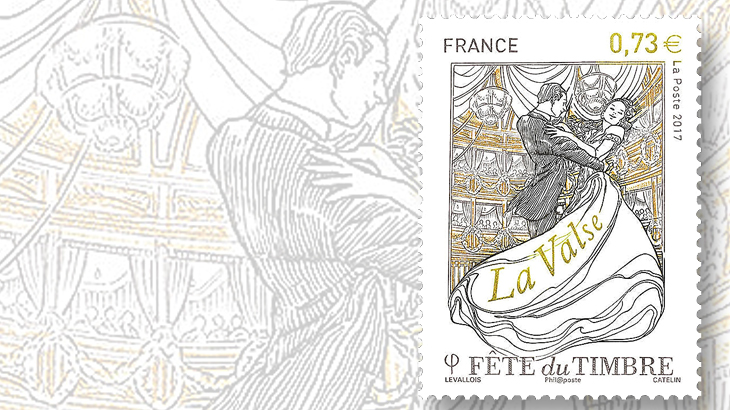 annual-french-festival-stamp