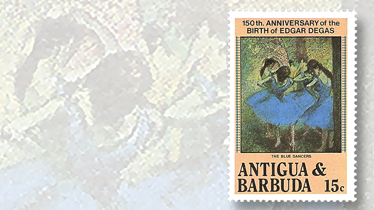 antigua-barbuda-blue-dancers-stamps