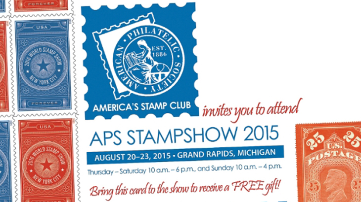 aps stampshow set to kick off in grand rapids. Black Bedroom Furniture Sets. Home Design Ideas