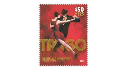 argentina-2019-tango-dancers-semipostal-stamp
