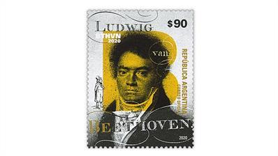 argentina-beethoven-postage-stamp