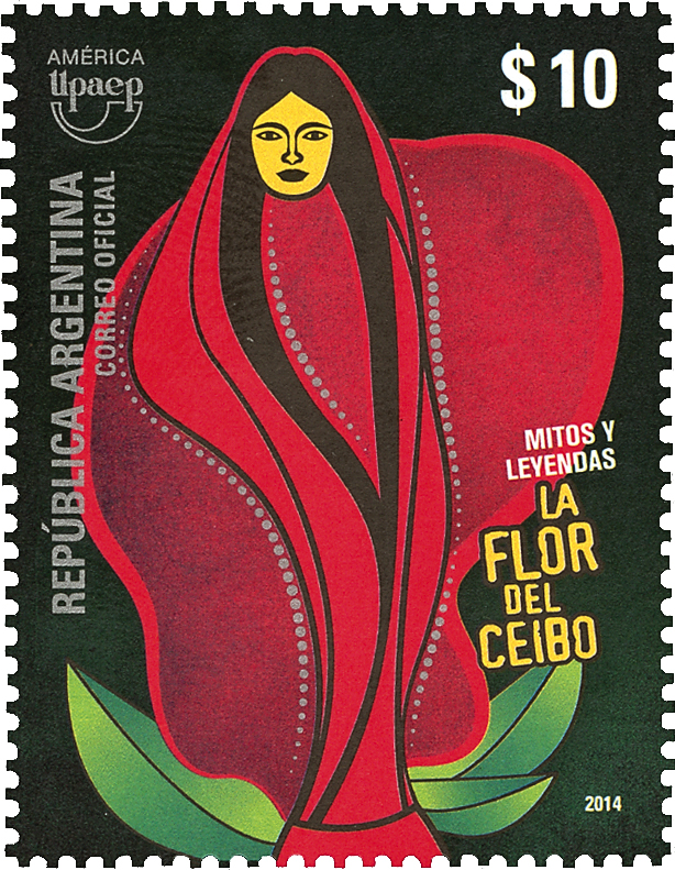 argentina-ceibo-flower-stamp-asiago-cultural-award-2014