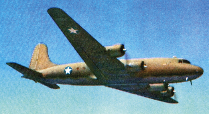army-air-force-c54-skymaster-aircraft-world-war-ii