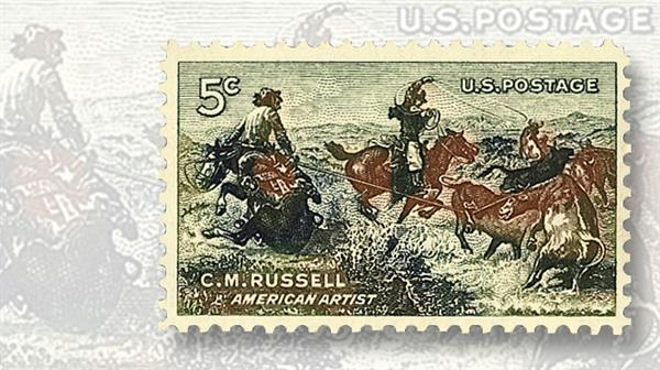 artist-charles-russell-commemorative-stamp
