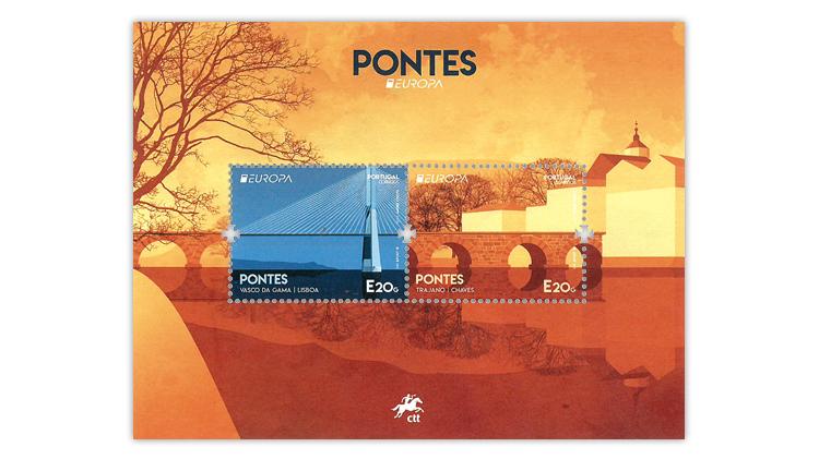 asiago-award-portugal-europa-bridges-souvenir-sheet
