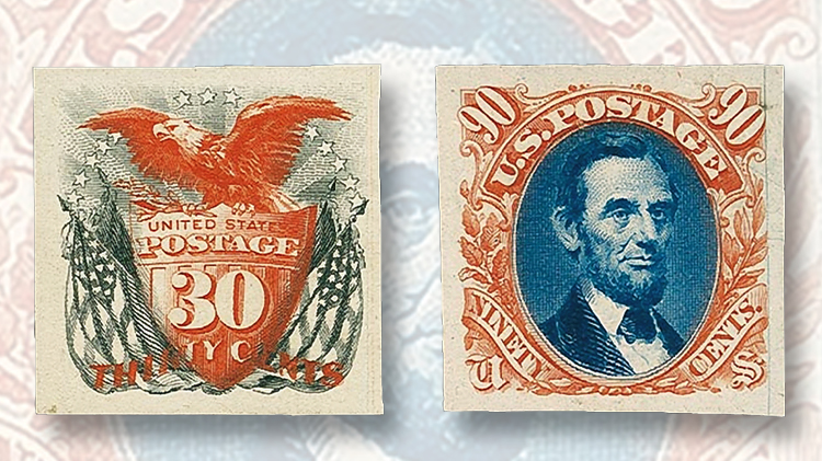 atlanta-trial-color-proofs-of-the-1869-issue