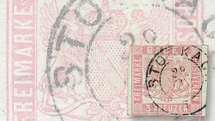 auction-roundup-gaertner-baden-1862-3-kreuzer-rose