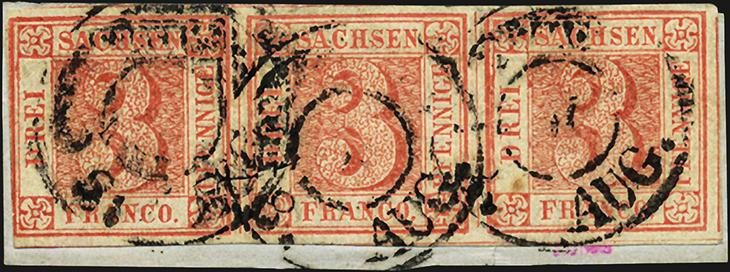 auction-roundup-gaertner-saxony-first-stamp-strip-of-three