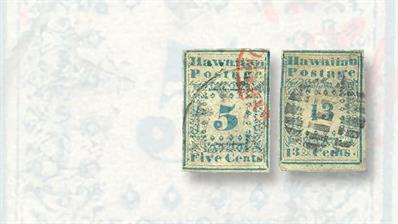 auction-roundup-harmer-schau-hawaii-missionary-stamps