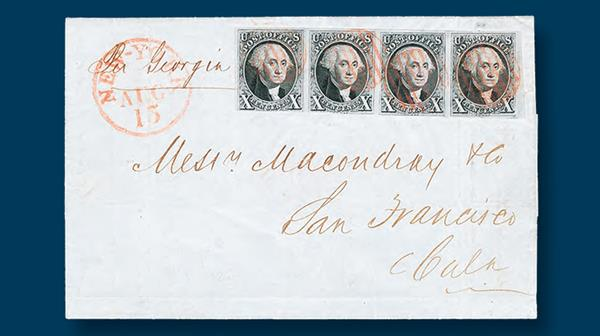 auction-rumsey-kramer-four-washington-stamps-cover