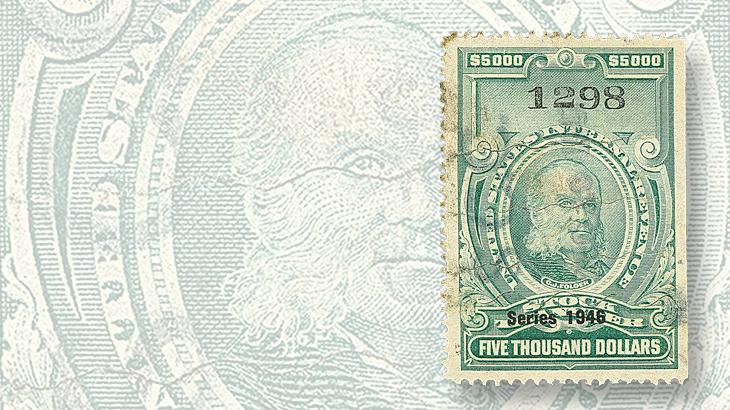 auction-siegel-nov-1946-dollar5000-stock-transfer