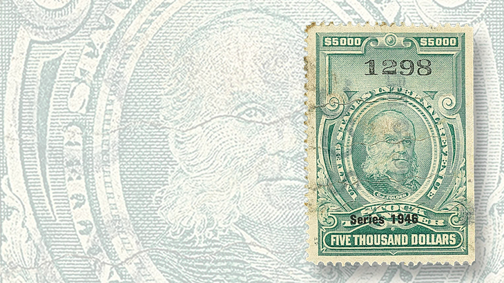 auction-siegel-nov-1946-dollar5000-stock-transfer