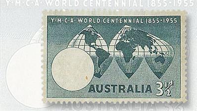 australia-1955-ymca-centennial-commemorative-stamp