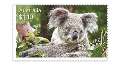 australia-2020-stamp-collecting-month-koala-stamp