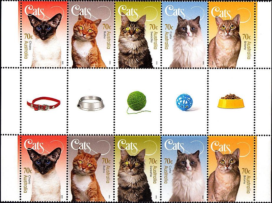 australia-cat-miniature-sheet