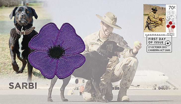 australia-fdc-war-dog-sarbi-stamp