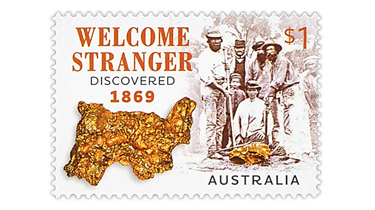 australia-gold-discovery-2019-postage-stamp