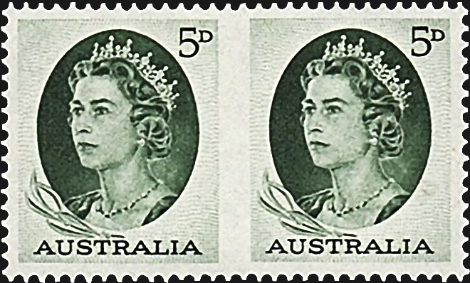 australia-imperforate-between-pair-1964-queen-elizabeth-ii