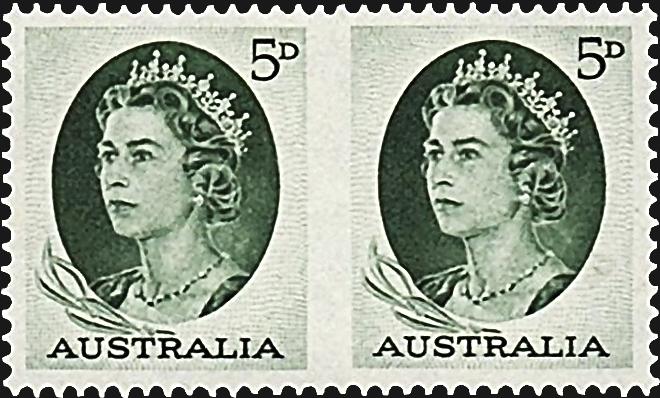 australia-imperforate-between-pair-1964-queen-elizabeth-ii
